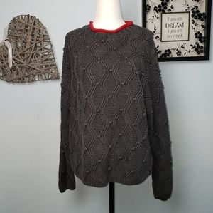Northern isles Knitted by Hand Sweater